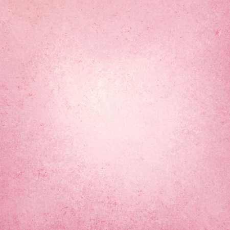 pink background with vintage grunge background texture design of faint stained sponge design, old pink paper, distressed worn texture Stock Photo