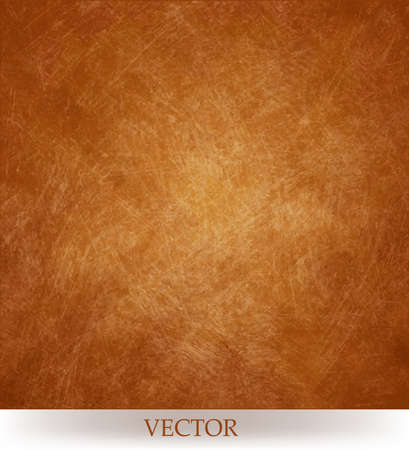 abstract blurred geometric pattern vector, gold copper orange background with spun gold vintage background texture and soft center lighting for text Vettoriali