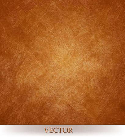 résumé, vecteur de motif géométrique floue, le cuivre fond orange or avec la texture or filé cru de fond et l'éclairage de centre mou pour le texte