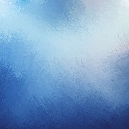 smeary: classy blue background with dark blue grunge design border texture and soft light sky blue lighting effect or grungy color splash in center
