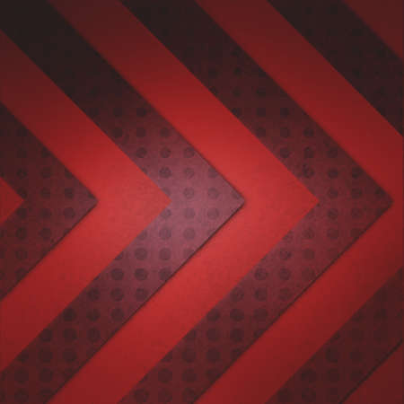 diagonal: red chevron pattern stripes on polka dotted marsala wine color stripes, abstract red background design