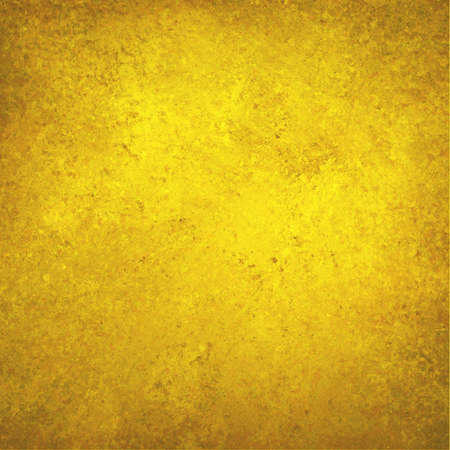 gold  yellow: gold yellow background with texture and faint vignette border, luxurious solid gold background wall Stock Photo