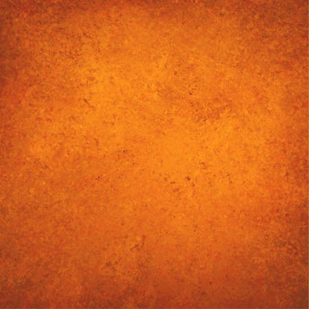 sponged: orange background, vintage color and sponged distressed texture in soft blended brush strokes with light center and darker border
