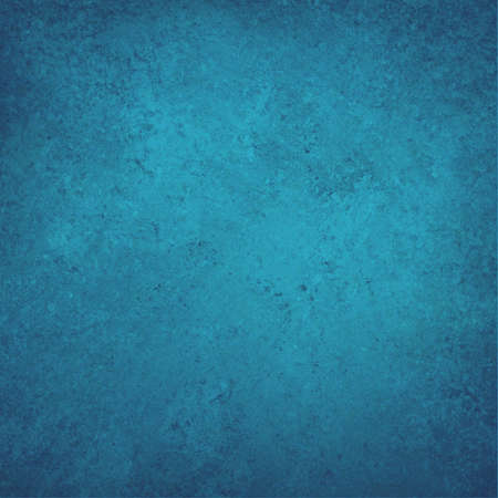 solid color: blue background, solid color with faint distressed vintage texture and darker vignette border