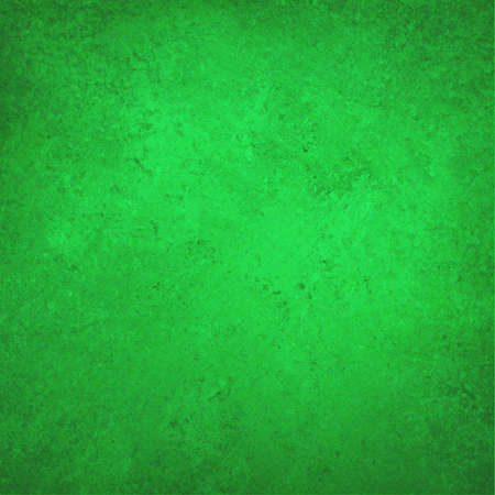 sponged: green Christmas background, vintage color and sponged distressed texture in soft blended brush strokes with light center and darker border Stock Photo
