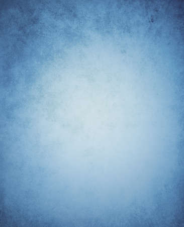 blue background with vintage texture border Stock Photo