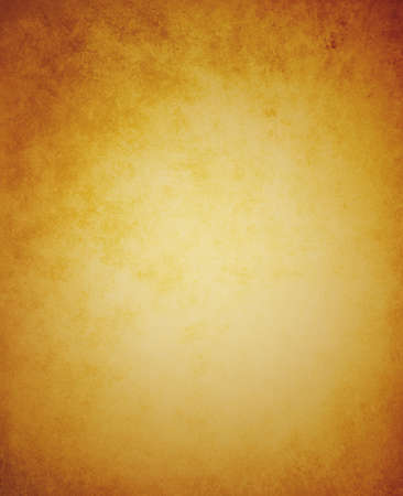 amber light: old brown paper background illustration with old worn vintage texture border Stock Photo