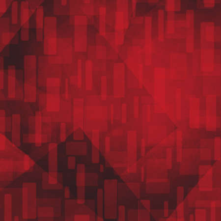 abstract background. black and red rectangle and triangle design elements. Stock Photo