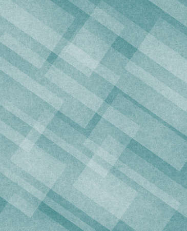 diagonal white rectangles layers on teal blue background photo