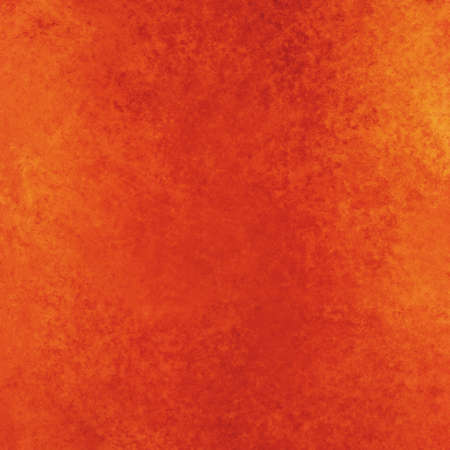 sponged: rustic orange red background with vintage textured paint Stock Photo