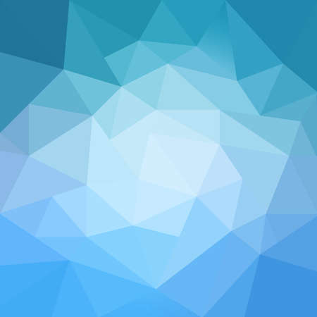 abstract blue low poly geometric background design
