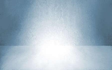 Azul resumen fondo gris interior vacío del sitio, de la pared baja ilustración reflexión, 3d producto caja de presentación escaparate, etapa en blanco o estudio Foto de archivo - 41305078
