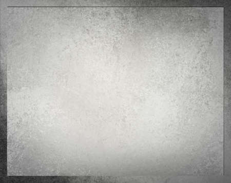 gray layered background frame with vintage grunge background texture and darker border Banco de Imagens
