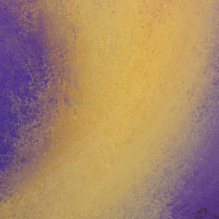 yellow shine: purple gold background. gold design element. gold color splash on purple background. shiny gold streak abstract design.