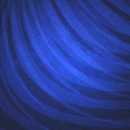 curving: distressed dark blue background with curving layered stripe pattern and grunge texture