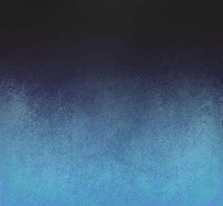 blended blue black background design with distressed vintage background texture abstract black blue background Standard-Bild