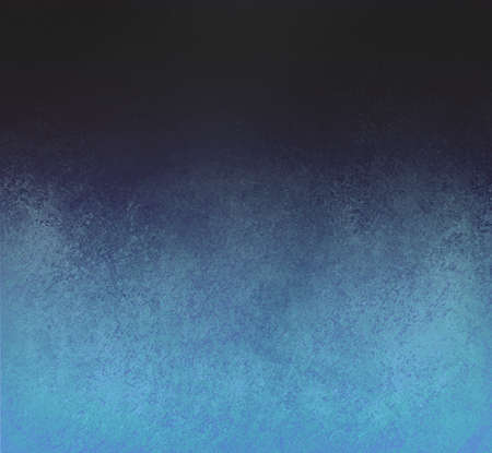 vintage background: blended blue black background design with distressed vintage background texture abstract black blue background Stock Photo