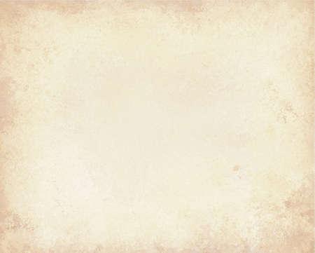 beyaz veya krem arka plan rengiyle kapalı bağbozumu doku düzeni ile eski kahverengi kağıt arka plan,
