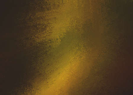 green and gold: dark gold background, shiny metallic texture Stock Photo