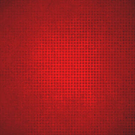 grid: red polka dotted grid background texture
