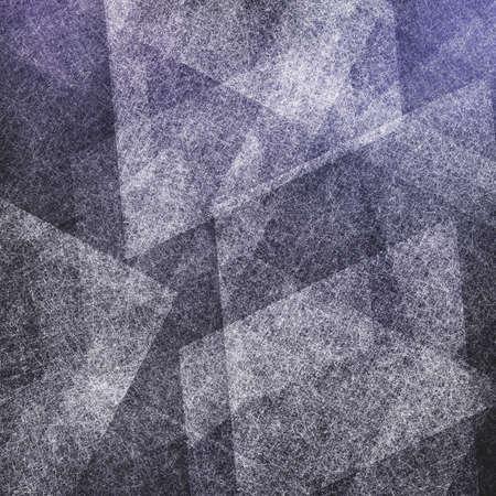 diamante negro: fondo púrpura y negro abstracto con capas blancas de diamante y forma del rectángulo de líneas y ángulos textura de cero