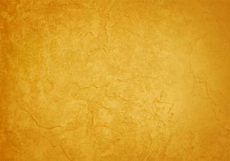 vintage: żółte złoto teksturowane rocznika tle wektor Ilustracja