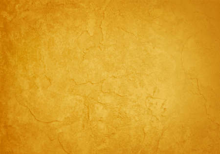 stone background: yellow gold vintage background textured vector Illustration