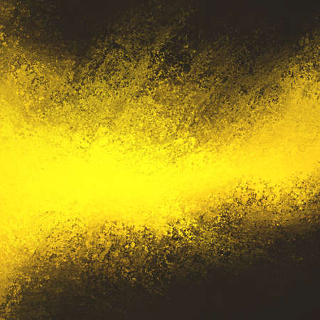 black textured background: abstract dramatic gold grunge on black background
