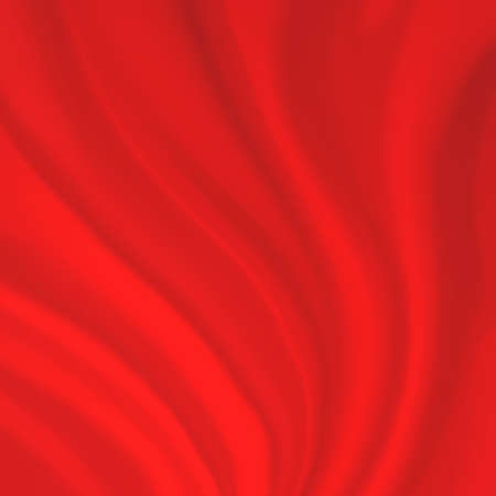 folds: red curtain material background illustration with folds