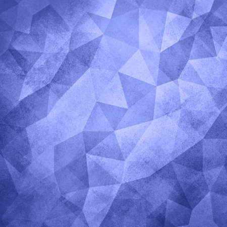 facets: blue background. Low poly blue background. Triangle shapes in mosaic pattern of diamond facets, low poly triangular style background design texture