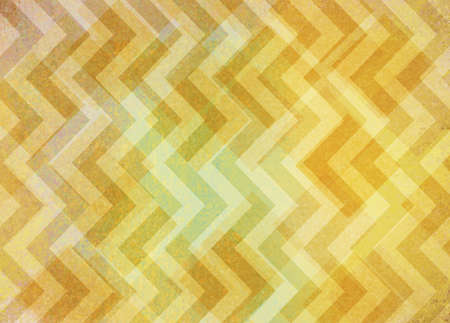 spot the difference: abstract yellow chevron shapes on distressed vintage textured background