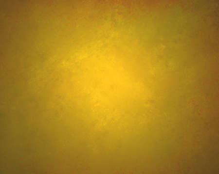 faint: shiny gold background layout with faint messy grunge texture design Stock Photo