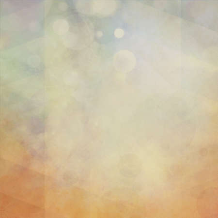 faint: soft abstract layers of orange grunge, white bokeh lights, and faint low poly triangle background design