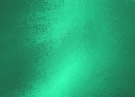 sponged: shiny green background, painted metal texture Stock Photo