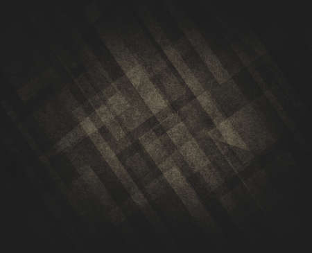 black textured background: faded diagonal white rectangles layers on black background Stock Photo