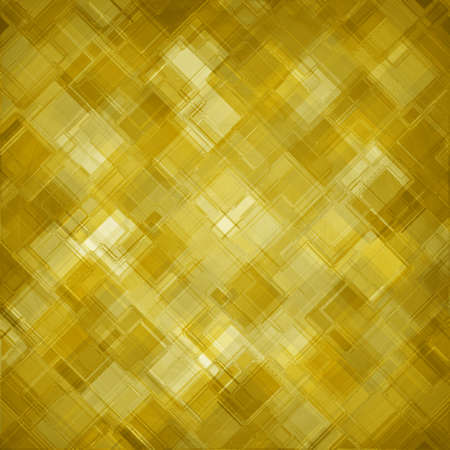 gold block pattern background, abstract design, glass textured