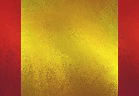 gold textured background: shiny gold textured paper on red background layout