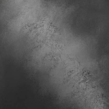 distressed: gray black background with grunge texture border, light shiny center or sunshine pattern on wall. vintage shadow black frame design, old distressed shabby background layout