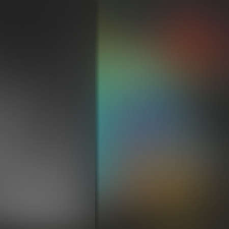 sidebar: abstract dark blurred background with black sidebar