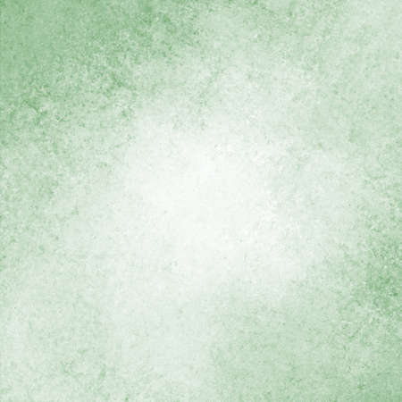 rustic pastel green background with darker grungy border on corners and vintage texture design Stock Photo