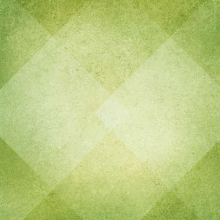 green background: light green background, white diamond abstract design, vintage texture