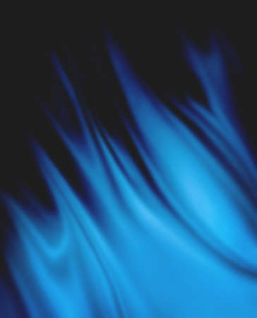 light blue background abstract cloth or liquid wave illustration of wavy folds on black shadow background, silk texture or satin satin material Stock Photo