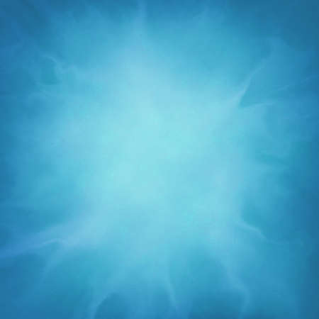 abstract blue background with wispy cloudy white design element