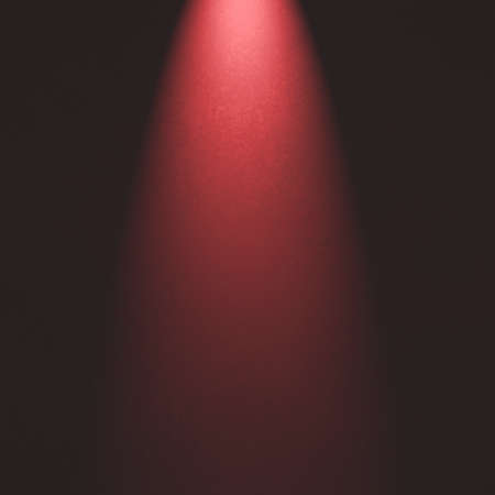 spotlight: Spotlight background with red light. Product display image.