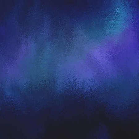 sponged: abstract background in purple and blue hues. luxury background. Dark sapphire blue background with distressed sponged texture. Stock Photo