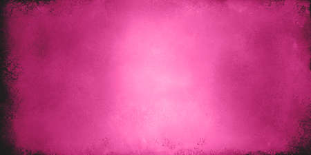 pink background valentines day image, solid hot pink or neon pink color with old distressed grunge textured border