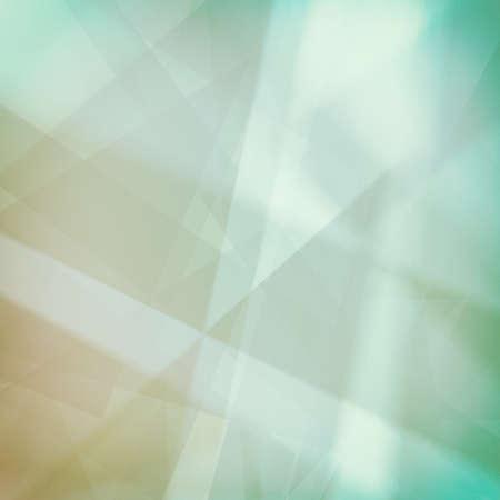 fondos azules: fondos abstractos, azul líneas verdes y blancas rayas y formas con iluminación suave Foto de archivo