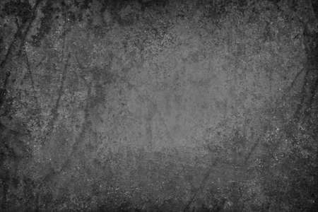 gouged: rusted black background with peeling paint texture Stock Photo