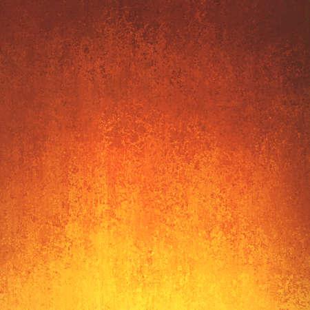 zlatá oranžové a červené pozadí s přechodem barev a melírování grunge textury