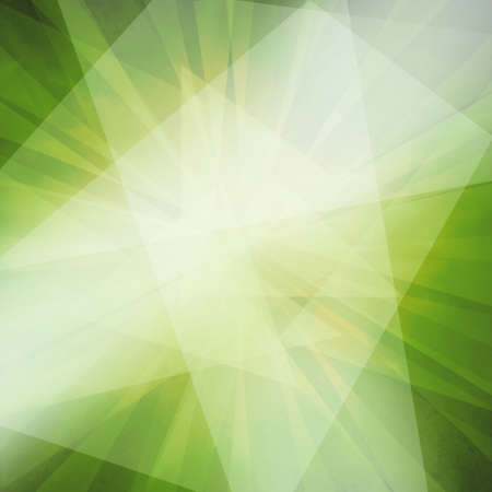 abstract angles and layers in green black and white background